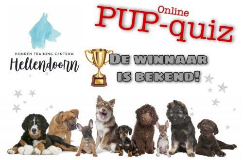 Winnaar PUP-quiz